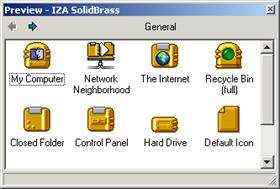 IZA SolidBrass