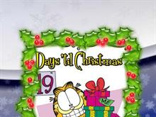 Christmas countdown with Garfield