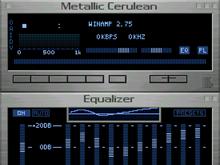 Metallic Cerulean