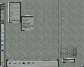 Attacker with WorkShelf