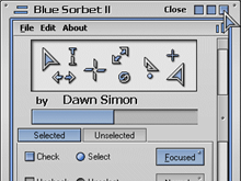 Blue Sorbet II