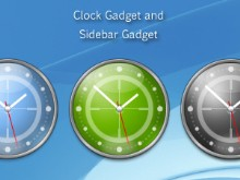 Revolver Sidebar Clock