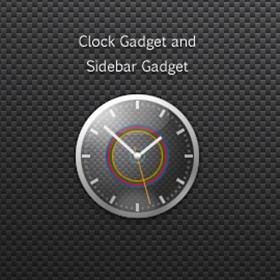 Charger Sidebar Clock