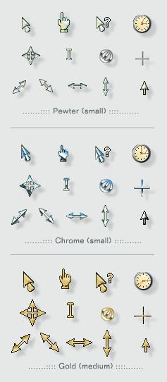 3 metal schemes
