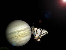 Butterfly & Jupiter