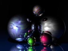 xmas balls (dark)