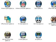 Misc Apps 6 Icons (Globe)