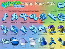 Win3D Winter Addon 03