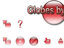 Globes by Jim - Red
