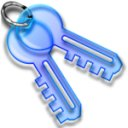Key Ring (Blue)