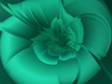 a green bryce flower by donnalorelei
