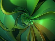 Green Twist 3 by donnalorelei