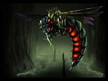Insectoid by highdarktemplar