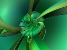 Green Twist 1 by donnalorelei