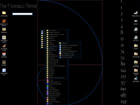 Fibonacci Spiral -- LS