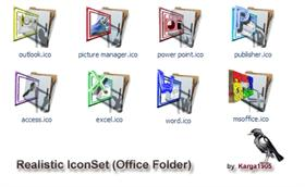 Realistic IconSet (OfficeFolders)