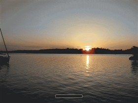 Sunset at Chiemsee