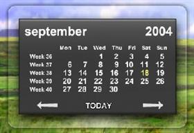 Aero Calendars II