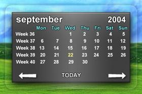 Aero Calendars II - Smal