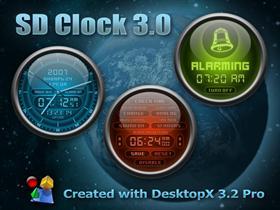 SD Clock 3.0