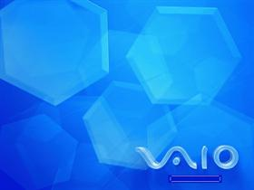 VAIO Blue Honeycombs