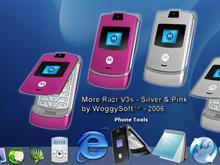 Razr V3 (Pink & Silver)