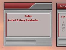 Scarlet & Gray RL