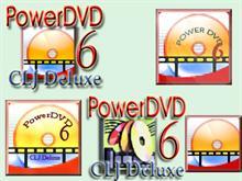 CyberLink PowerDVD6 CLJ Deluxe icon pack
