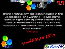 PicoZip Icon 4 ObjectDock v1.1