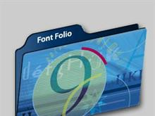 Adobe Font Folio 9.0 Folder