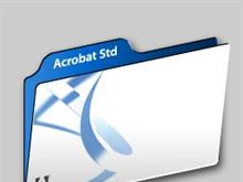 Adobe Acrobat 7.0 Std Folder (water-colored)