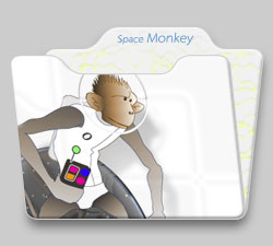 Strings Folder :: Space Monkey :: Photoshop 9.0