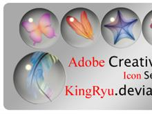 Adobe Creative Suite 2 Glass Orbs