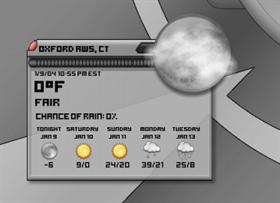 Apollo DX Weather