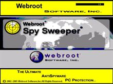 Webroot'sSpySweeper.bootskin