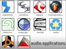 audio application icons