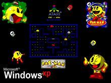 Pac Man Windows XP