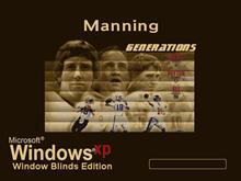 Manning (Generations) Window Blind Edition