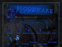 Blue Bloodware CursorFX