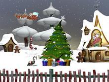 Santas Helpers screen saver