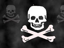 Pirate Skull Screensaver