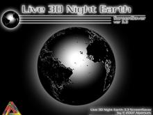 Live 3D Night Earth 3.3 ScreenSaver