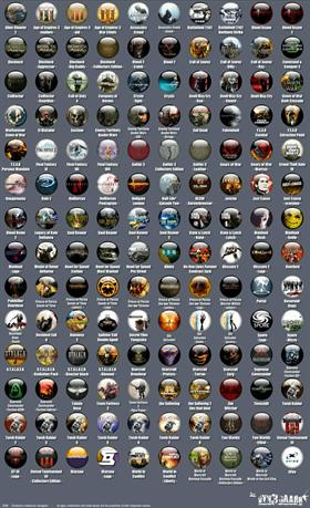 140 Game icons by Vyn3gaarr (part III)