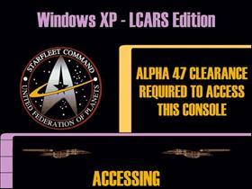 LCARS bootscreen