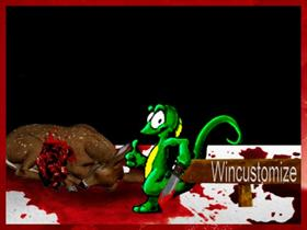 Wincustomize's Mascot Goes Hunting
