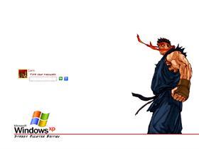 Street Fighter Logon - Dark (Evil) Ryu