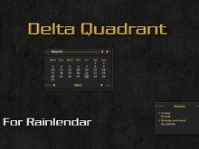 Delta Quadrant for Rainlendar