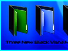 Black Vista Folders
