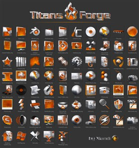 Titans Forge OD Icons