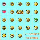 PhpBB smooth smilies